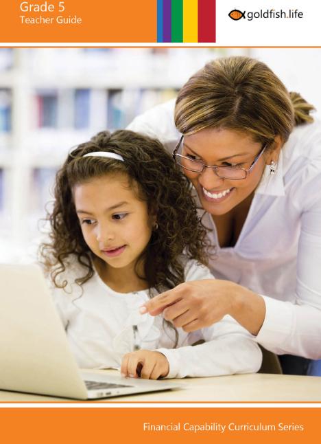Grade 5 Financial Literacy Course – Teacher Guide